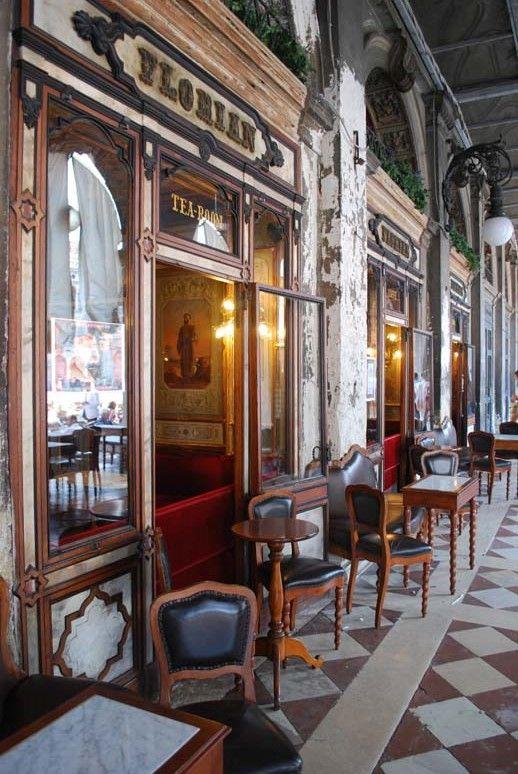 Venice, Florian tea room