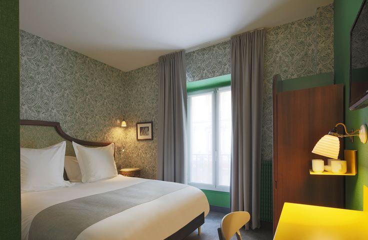 Hector Bibendum Wall Lights seen in Hotel Josephine in Paris