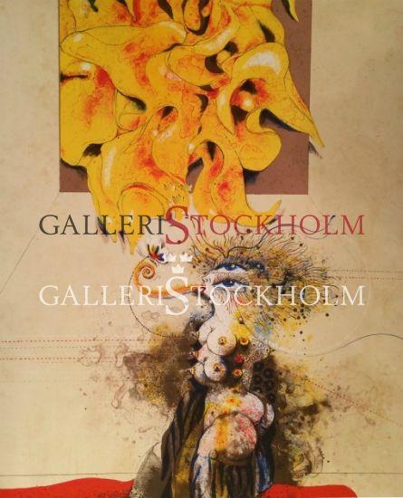Ardy Strüwer - Litografier - Flowering Dreams Beställ här! Klicka på bilden.