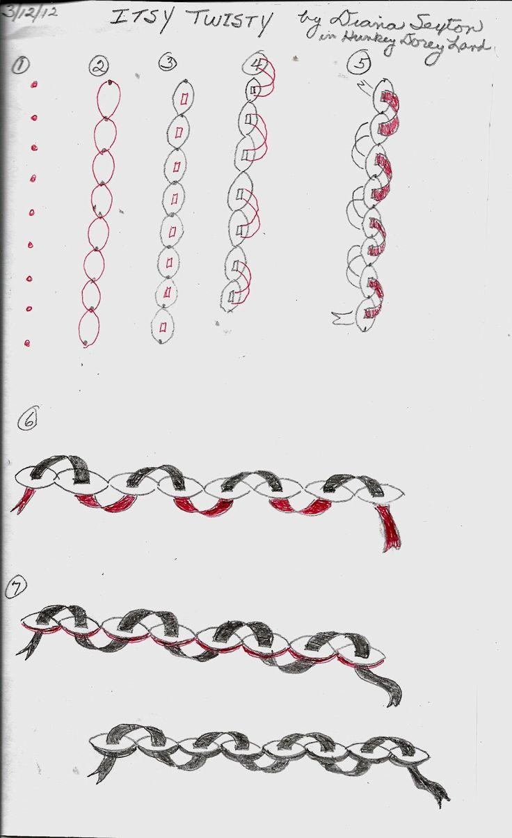 Hunkey Dorey Land: Itsy Twisty - a new tangle patternTangle Patterns, Dorey Land, Artzentangl Howto, Zen Tangled, Hunkey Dorey, Tangled Pattern, Zentangle Pattern, Zentangle Tutorials, Itsy Twisty