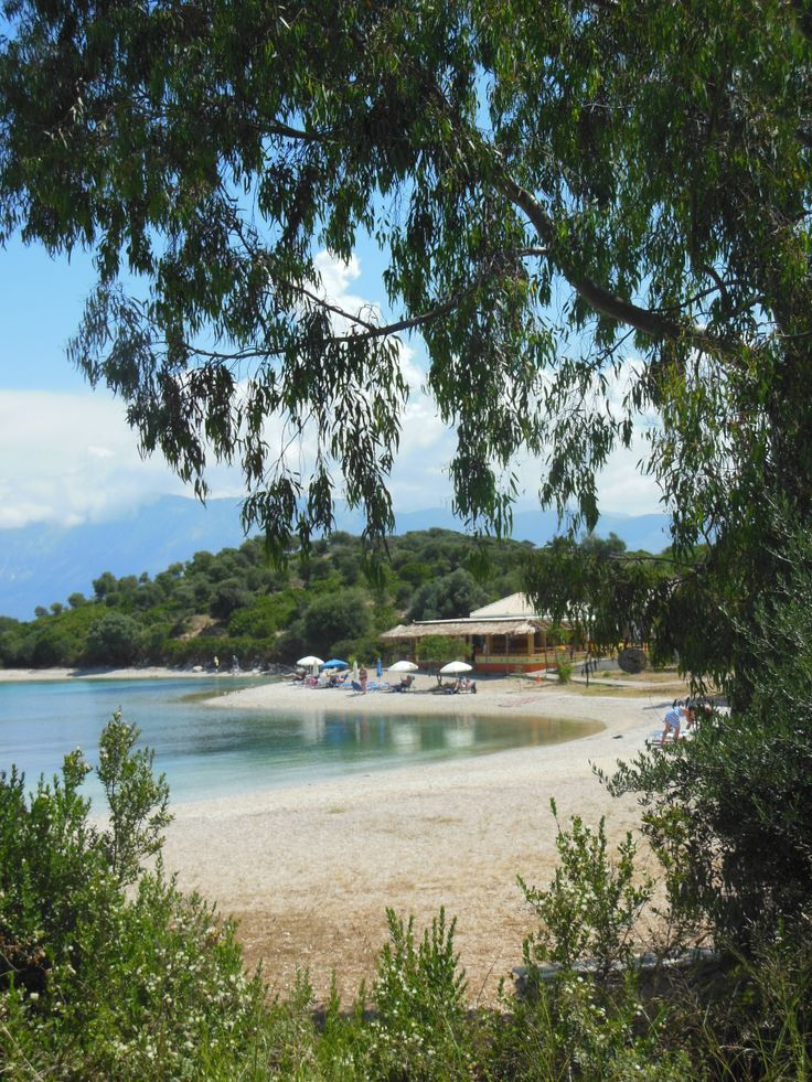 Fanari Beach, Meganissi...it would be hard to find a more away from it all gem than this
