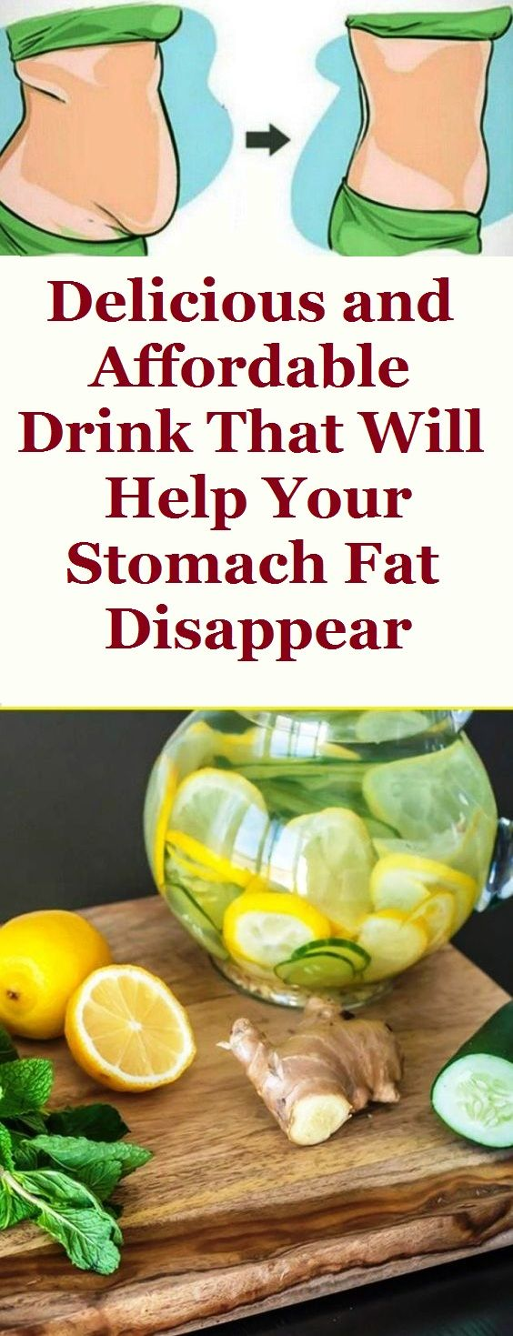 Delicious and Affordable Drink That Will Help Your Stomach Fat Disappear
