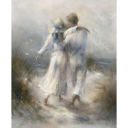 Romantic Canvas Art - Willem Haenraets (20 x 24)