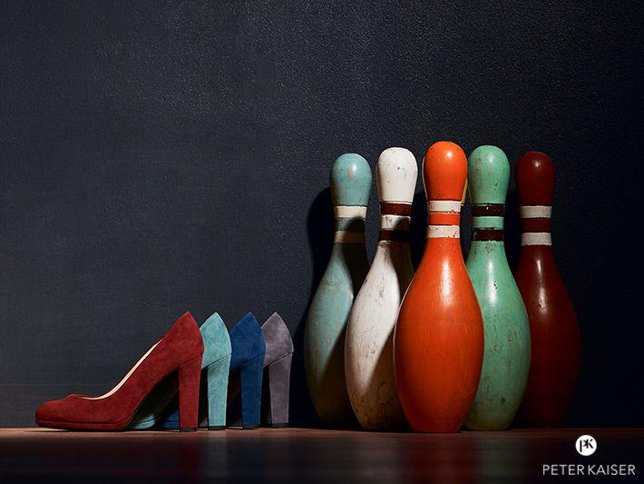 Wildlederpumps in Trendfarben von Peter Kaiser #PeterKaiser #Pumps #Damenschuhe #Wildleder #Weinrot #Tuerkis #Blau #Taupe