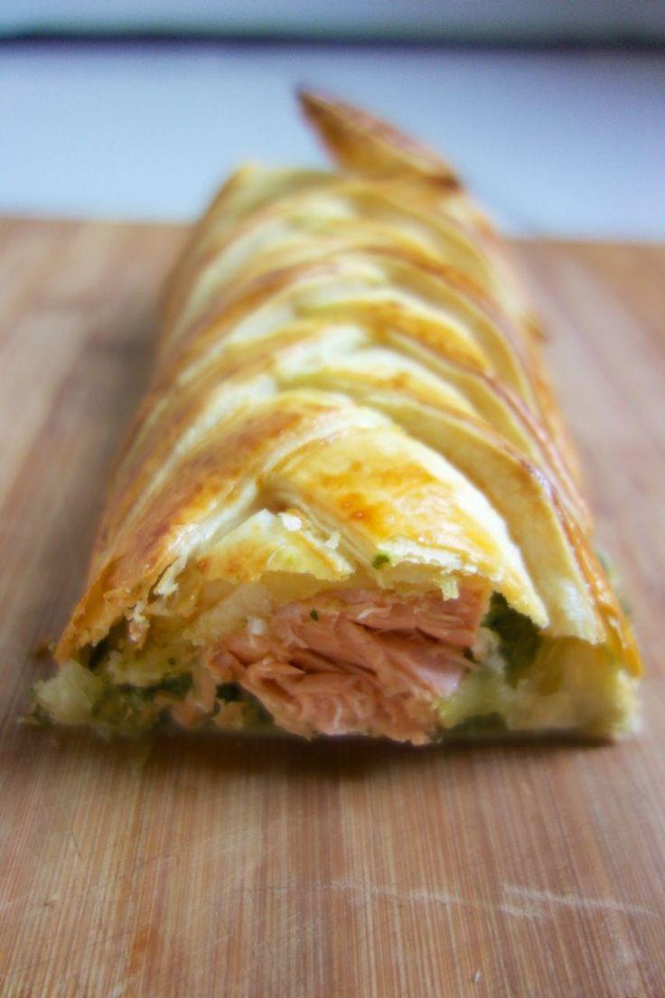 Les 25 meilleures id es de la cat gorie feuillet saumon pinard sur pinterest quiche saumon - Recette quiche saumon epinard ...