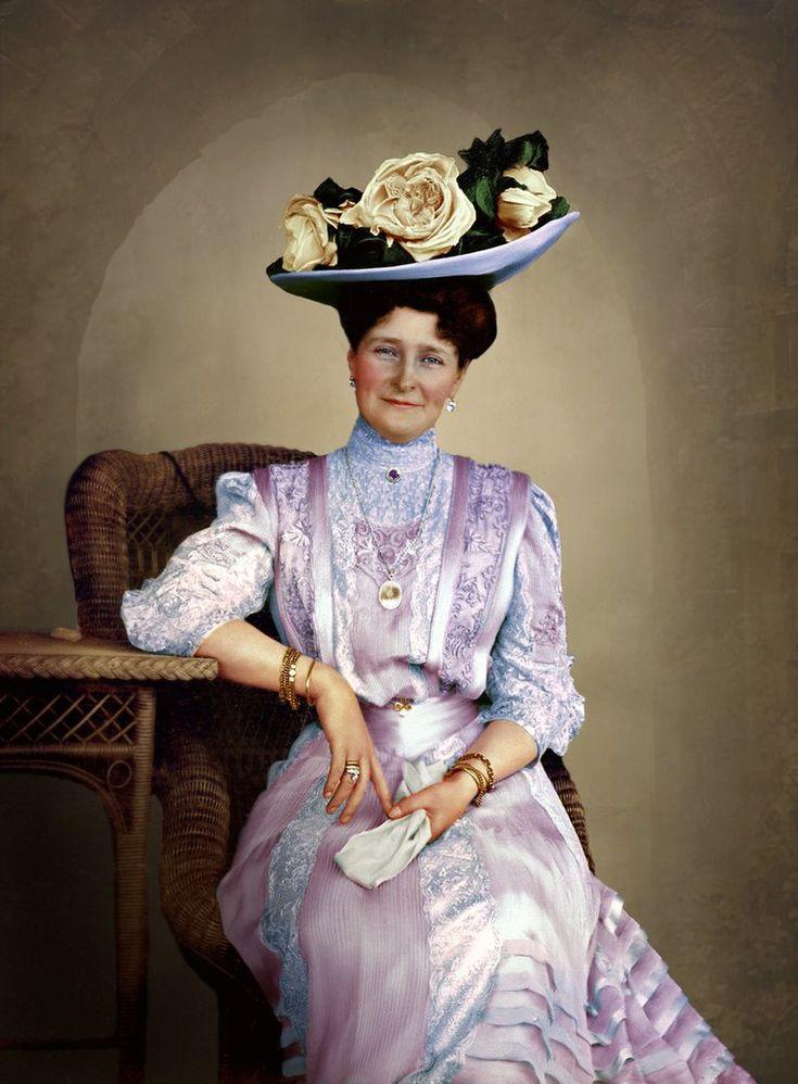 Empress Alexandra Feodorovna of Russia, 1908. by AlixofHesse on DeviantArt