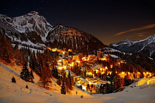 how lovely after a day on the slopes...