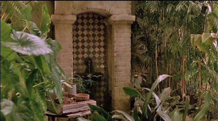 Movie, Green Card: Tour the historic apartment and greenhouse, conservatory I covet this place!
