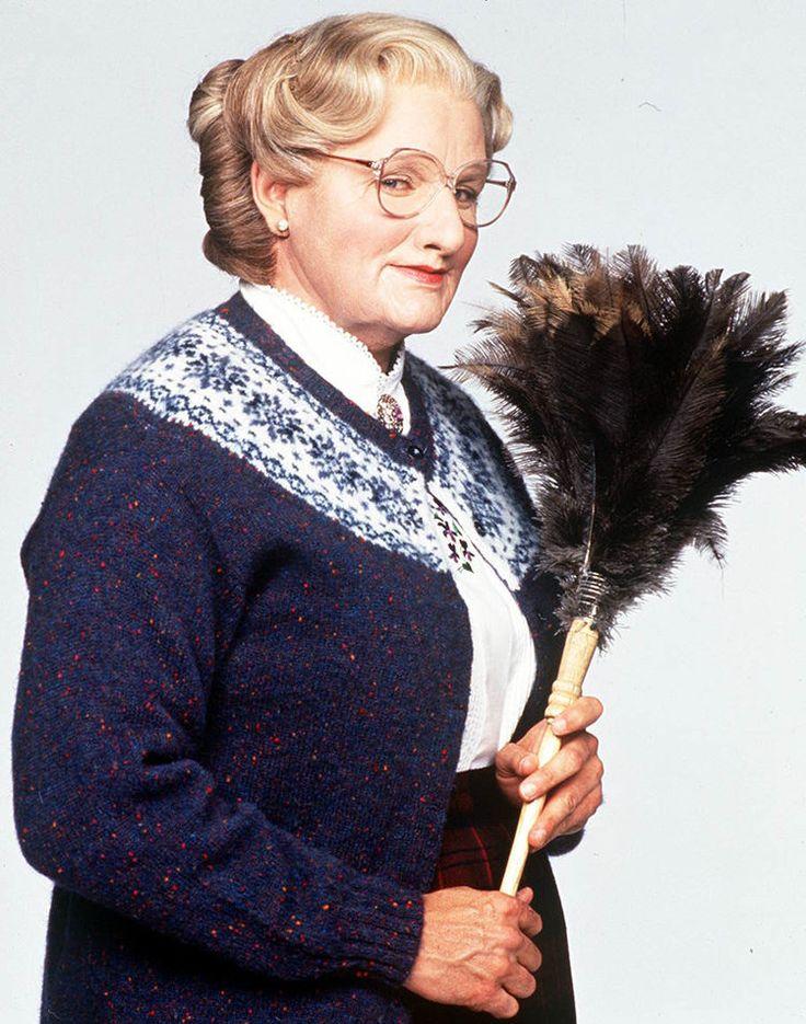 Robin Willians dans Mme Doubfire