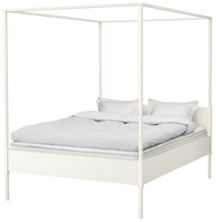 everything LEB: Not your kids canopy Bed