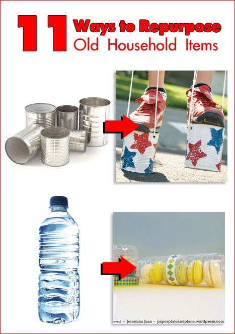 Reduce reuse repurpose that junk 11 ways to repurpose for Diy crafts made from household items