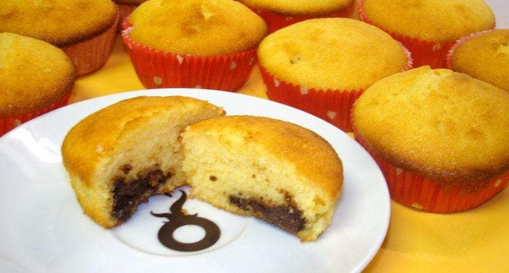 Nutellás muffin recept