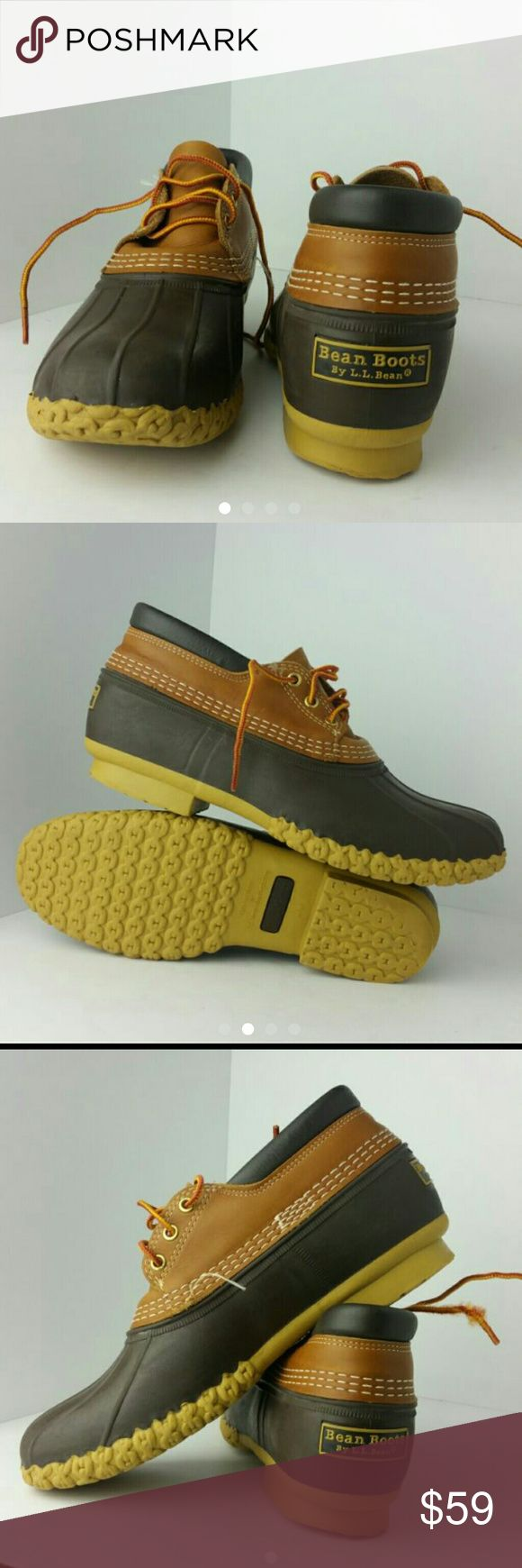 LL BEAN MEN'S DUCK BOOT VERY CLEAN INSIDE-OUT   SKE # BV L.L. Bean Shoes Boots