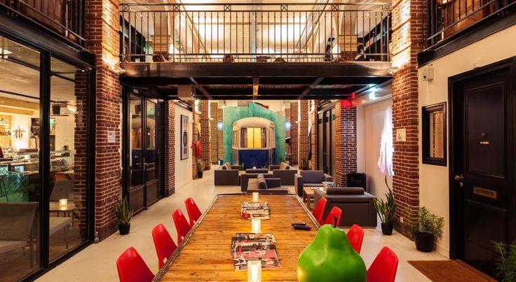 Overnachten in Holland: Hotel Not Hotel in Amsterdam
