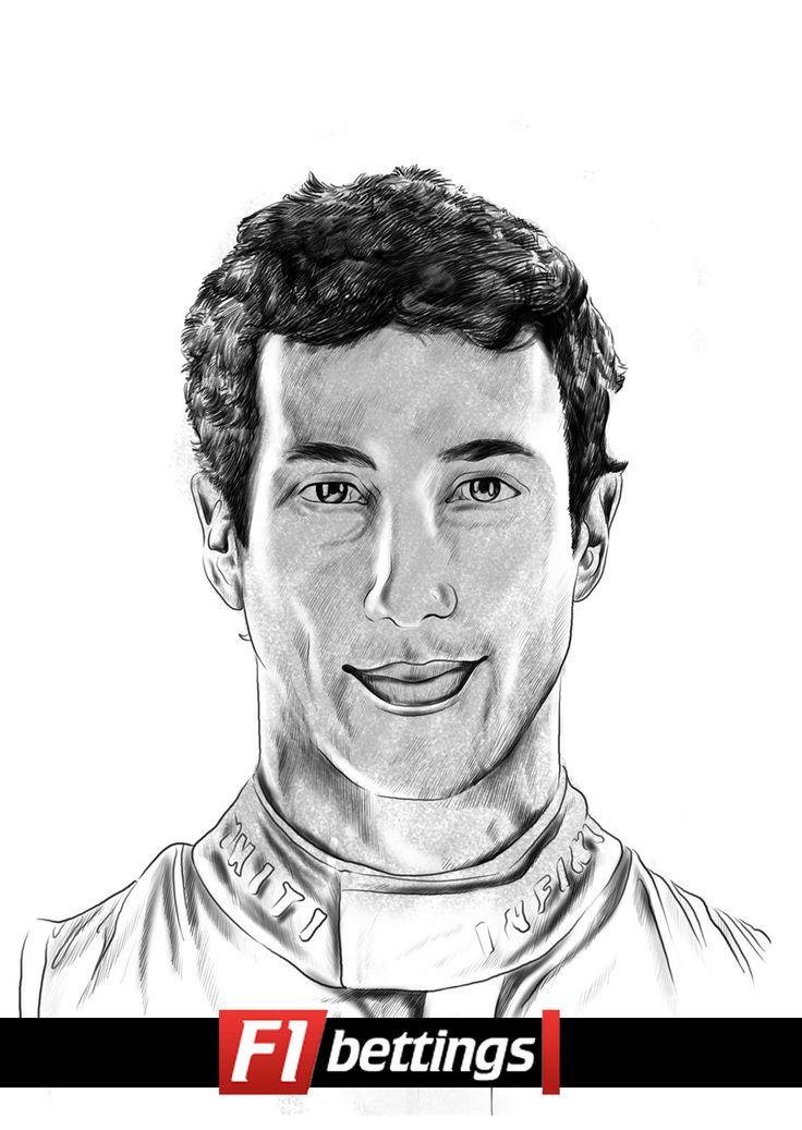 F1 driver Daniel Ricciardo f1-bettings.com