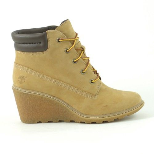 Timberland Ek Amston 6 Inch Pelle Donna Marrone #shoes #scarpe #zeppa  #inverno