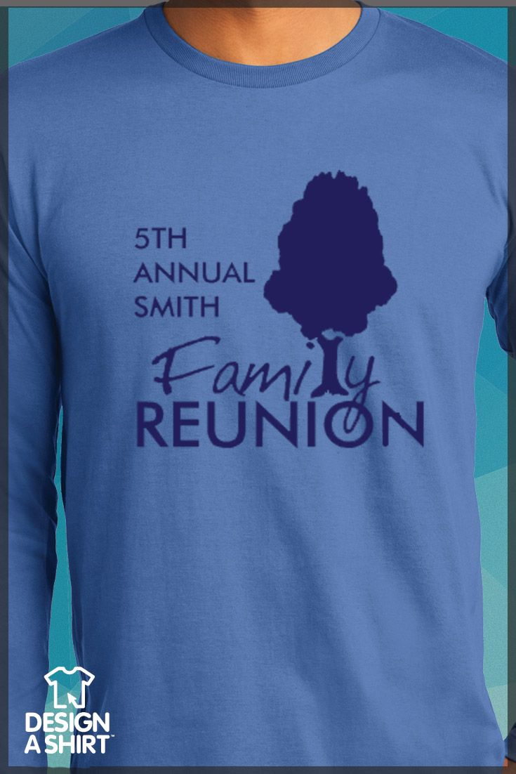 Design t shirt family gathering - Think Custom T Shirts For Your Family Reunion Would Cost Too Much Think Again