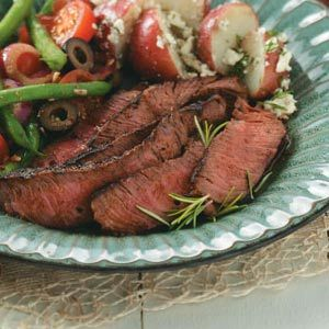 Easy Marinated Sirloin Steak Recipe. NOTES: This was the juiciest and more tender steak I have ever made at home. Super tasty!