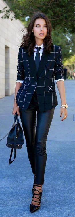 Navy Windowpane Blazer or Suit