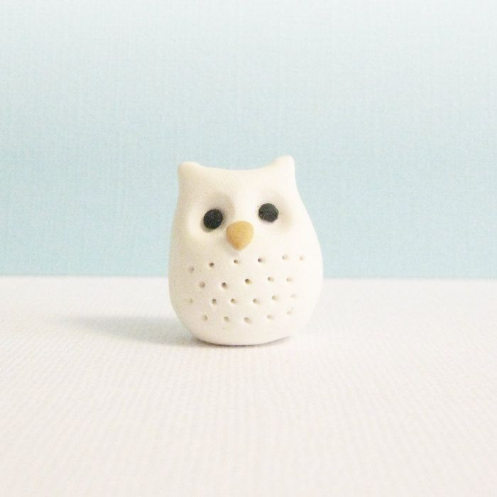 Polymer Clay Owl Miniature Geekery Pocket Totem by MeganSiedzik, $12.00