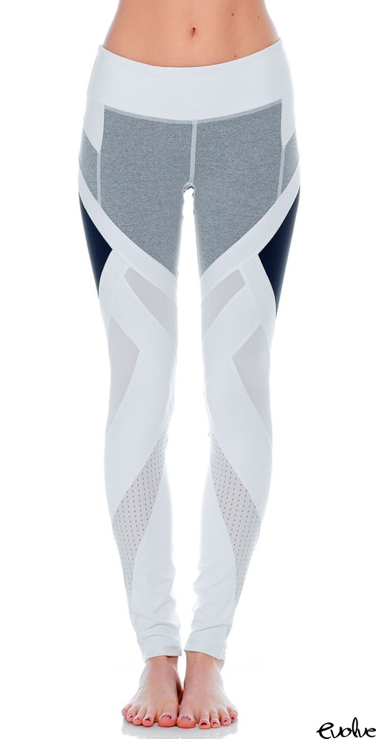 Look ultra chic and edgy with these Vimmia Allegiance Leggings! Shop new styles now at www.evolvefitwear.com.