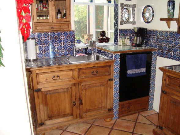 Mexican Style Kitchens |  Mediterranean Home With Kitchen Done In  Traditional Mexican Style .