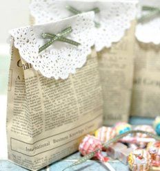Des cadeaux vintage pour les invités                              …