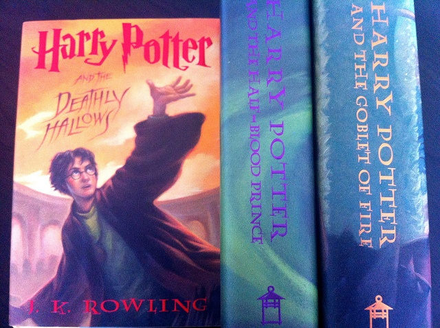 Harry Potter Series Bookes by javelinwarrior, via Flickr