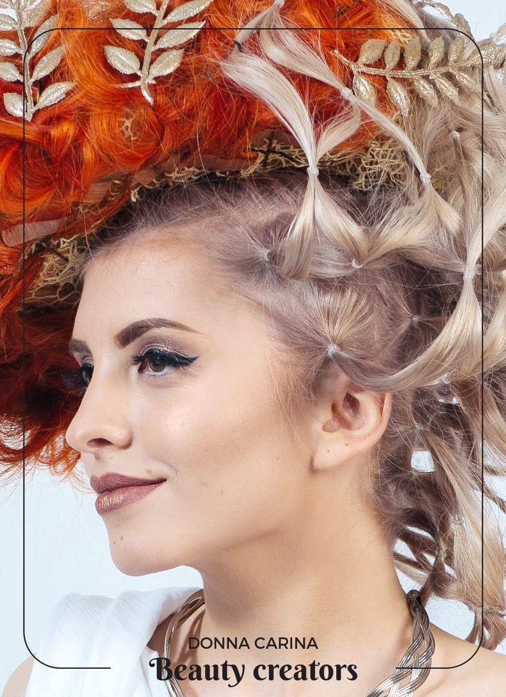 Idei de coafuri si machiaj pentru evenimente speciale #beautycreators #donnacarina