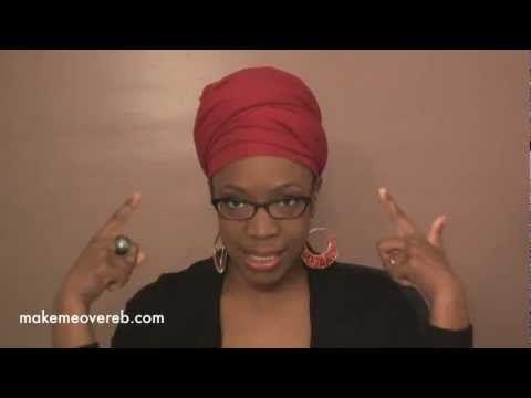 HeadScarf Tutorial - Headwrap - YouTube