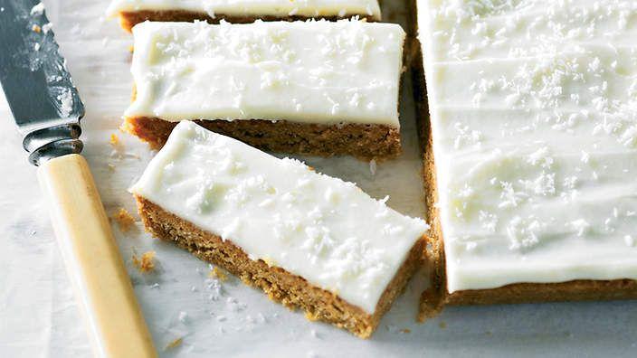 Merle's slice recipe : SBS Food