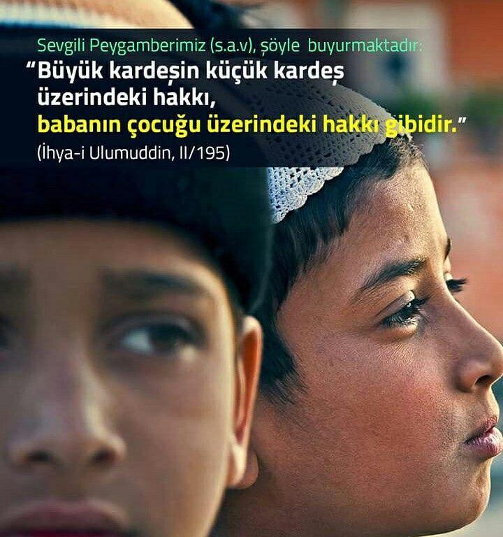 #büyük #kardeş #küçük #hak #anne #baba #evlat #çocuk #aile #ihya #islam #müslüman #ilmisuffa
