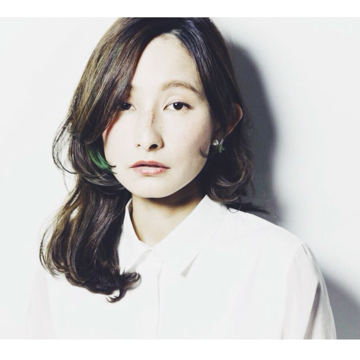 HAIR STYLIST▶Double/Kayoko Kashiwa #CYAN #CYANMAG #HAIR #HAIRSALON #LONGHAIR #GREENHAIR #ロング #髪型 #ヘアカタログ
