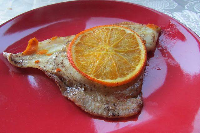Kulinarne Wariacje: Sola z pomarańczami