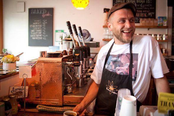 Ian Jones of I Deal Coffee in Toronto.