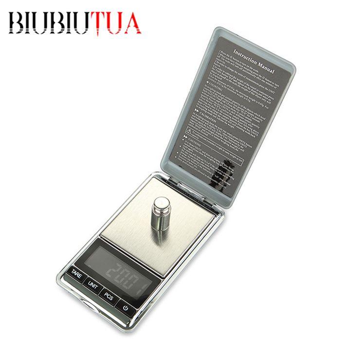 BIUBIUTUA 1000g x 0.1g Mini Pocket Gram Electronic Digital Jewelry Scales Weighing Kitchen Scales Balance LCD Display date night