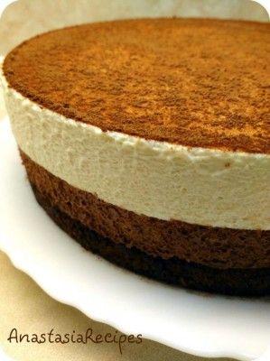 Шоколадно-муссовый торт «Шоколадный дуэт»