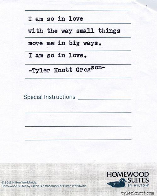 Typewriter Series #510by Tyler Knott Gregson