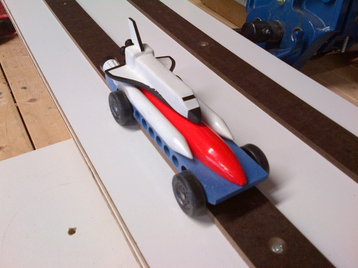 Space Shuttle pinewood derby car | Pinewood Derby ...