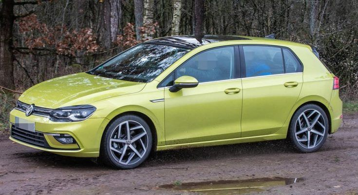 The 2020 Volkswagen Golf Mk8 Has Been Spotted Undisguised Well In Front Of Its Foreseen Open Presentation At The Frankf Volkswagen Golf Volkswagen Car Salesman