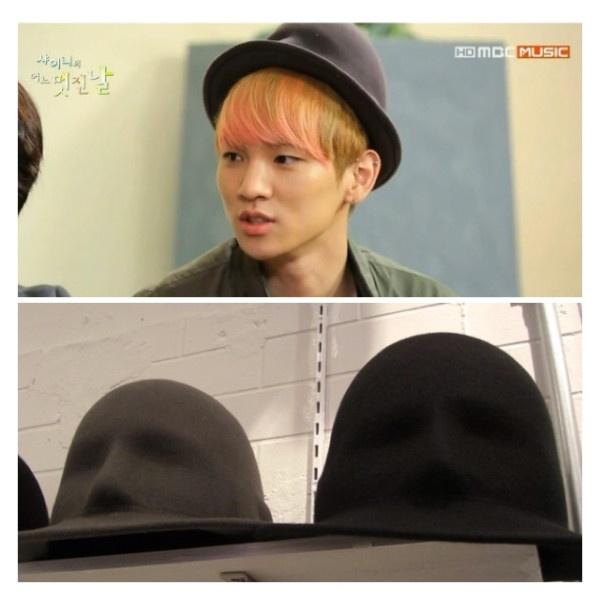 130212 Key at SHINee's Wonderful Day - Aquvii Tokyo [Face Hat]