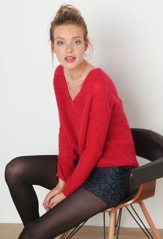 Nouvelle Collection Femme - Eclat de rouge