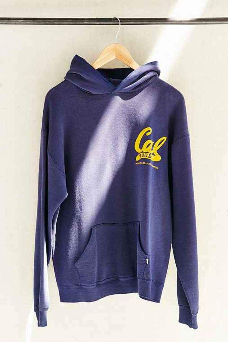 Vintage Cal Rugby Hoodie