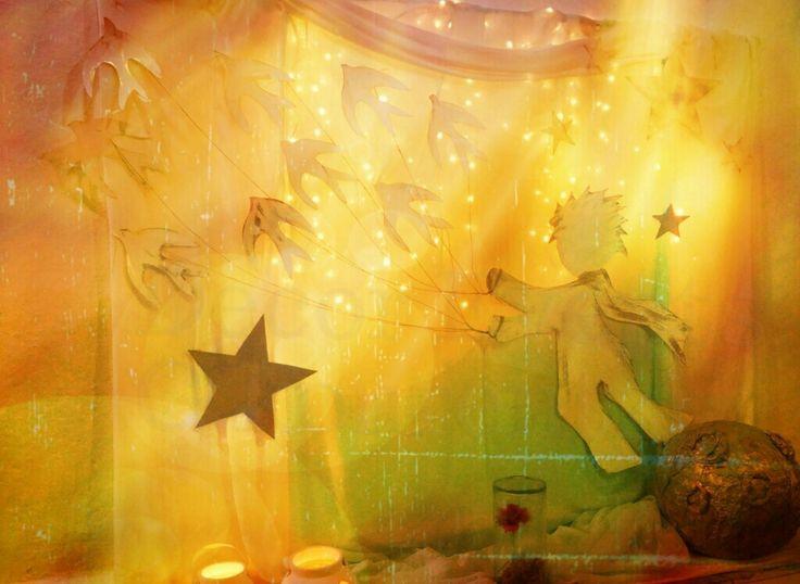 """The little Prince"" baptism by Decor Events G.kourentzi"