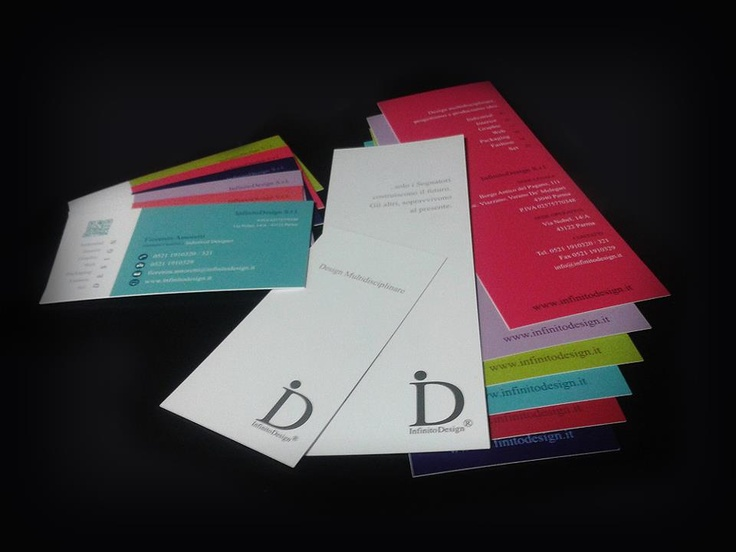 New Communication #Design for innovative Business #Card and #Bookmarks created by InfinitoDesign  Nuova #Comunicazione Integrata per i Biglietti da Visita e #Segnalibri innovativi creati da #InfinitoDesign, www.infinitodesign.it