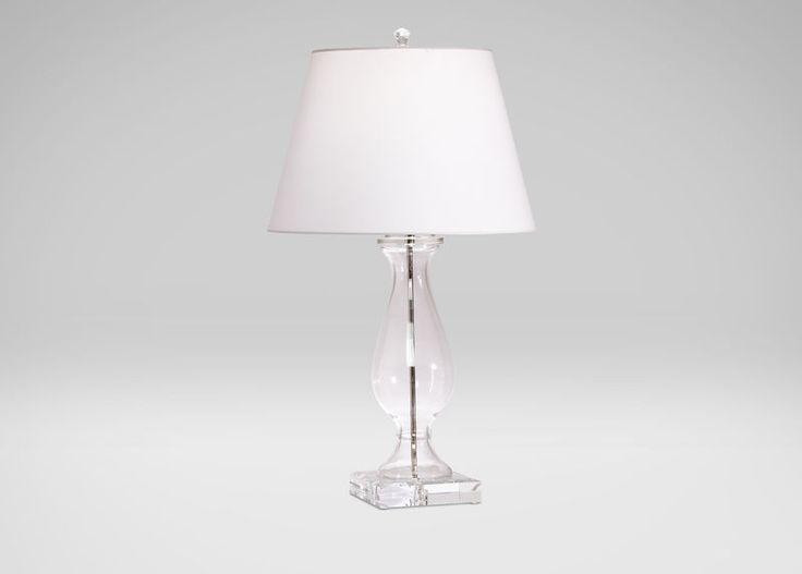 Groton glass table lamp