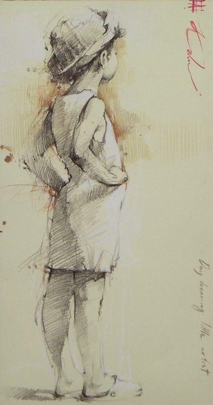 Andre Kohn, Daydreaming Little Artist.