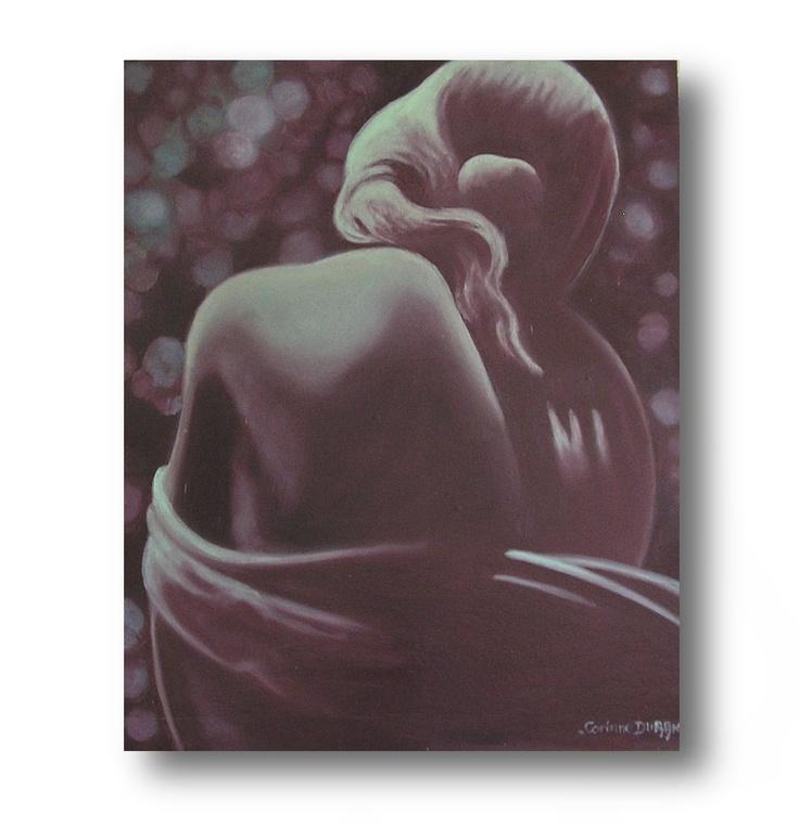 Tableau Passionatta - Huile sur bois - 300 €