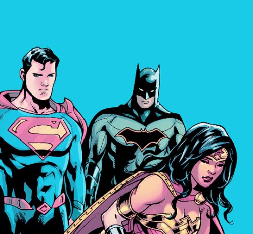 """""""It pains me to say good-bye to my mother once again. But I cannot allow my friends to take this journey without me."""" - Batman in Trinity #4"""