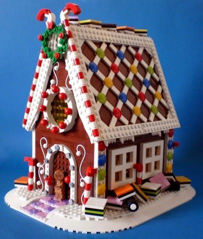 Support the LEGO Ideas Gingerbread House